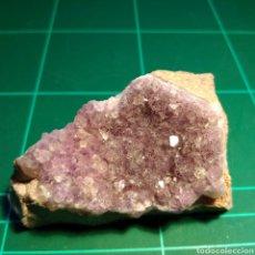 Coleccionismo de minerales: MINERAL CRISTALIZADO DE AMATISTA. ALEMANIA.. Lote 272463843