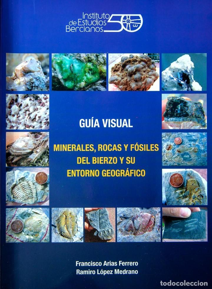 GUÍA VISUAL. MINERALES, ROCAS Y FÓSILES DEL BIERZO Y SU ENTORNO GEOGRÁFICO (Coleccionismo - Mineralogía - Otros)