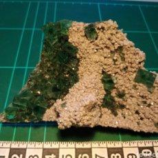 Coleccionismo de minerales: FLUORITA CRISTALIZADA VERDE. CHINA.. Lote 276191858
