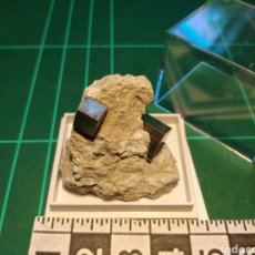 Coleccionismo de minerales: MINERAL CRISTALIZADO DE PIRITA. LA RIOJA.. Lote 276201283