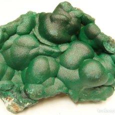 Coleccionismo de minerales: MALAQUITA NOBLE- 11 X 8,3 CM.. Lote 277434468