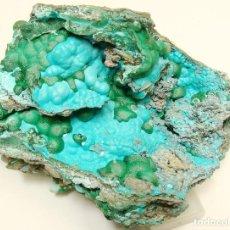 Coleccionismo de minerales: CRISOCOLA / MALAQUITA - 10,5 X 6,5 CM.. Lote 277435058