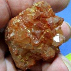 Coleccionismo de minerales: CUARZO HEMATOIDEO-AOULI-MARRUECOS U-118. Lote 278475203