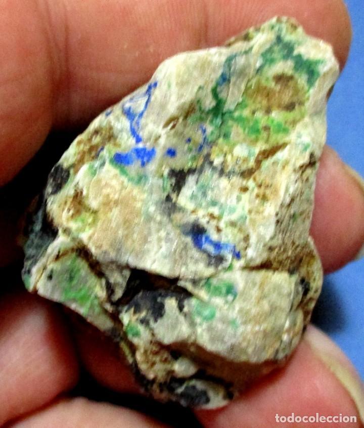 CONICALCITA-MOLVÍZAR-GRANADA U-114 (Coleccionismo - Mineralogía - Otros)