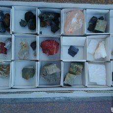 Coleccionismo de minerales: COLECCIÓN DE MINERALES. Lote 282965098