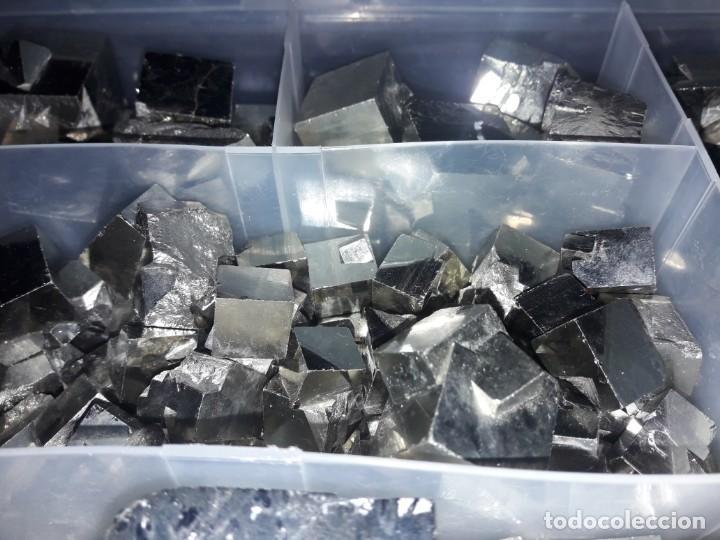 Coleccionismo de minerales: Magnifico gran lote colección de Piritas - Maclas de Piritas y Piritas Limonitizadas 100 piezas - Foto 4 - 285051328