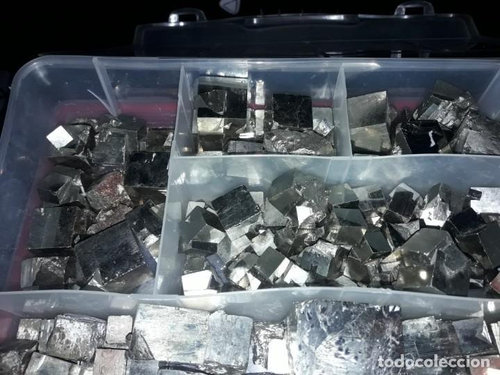 Coleccionismo de minerales: Magnifico gran lote colección de Piritas - Maclas de Piritas y Piritas Limonitizadas 100 piezas - Foto 6 - 285051328