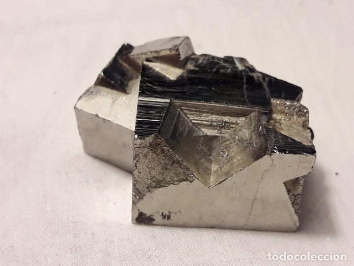 Coleccionismo de minerales: Magnifico gran lote colección de Piritas - Maclas de Piritas y Piritas Limonitizadas 100 piezas - Foto 11 - 285051328