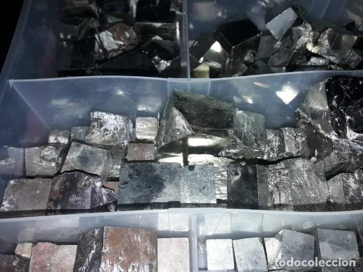 Coleccionismo de minerales: Magnifico gran lote colección de Piritas - Maclas de Piritas y Piritas Limonitizadas 100 piezas - Foto 25 - 285051328