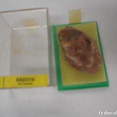 Coleccionismo de minerales: MINERAL BAUXITA LA LLACUNA. Lote 286687093