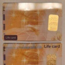 Coleccionismo de minerales: 3 LINGOTES DE ORO PURO 999,9/ 1000. Lote 287376088