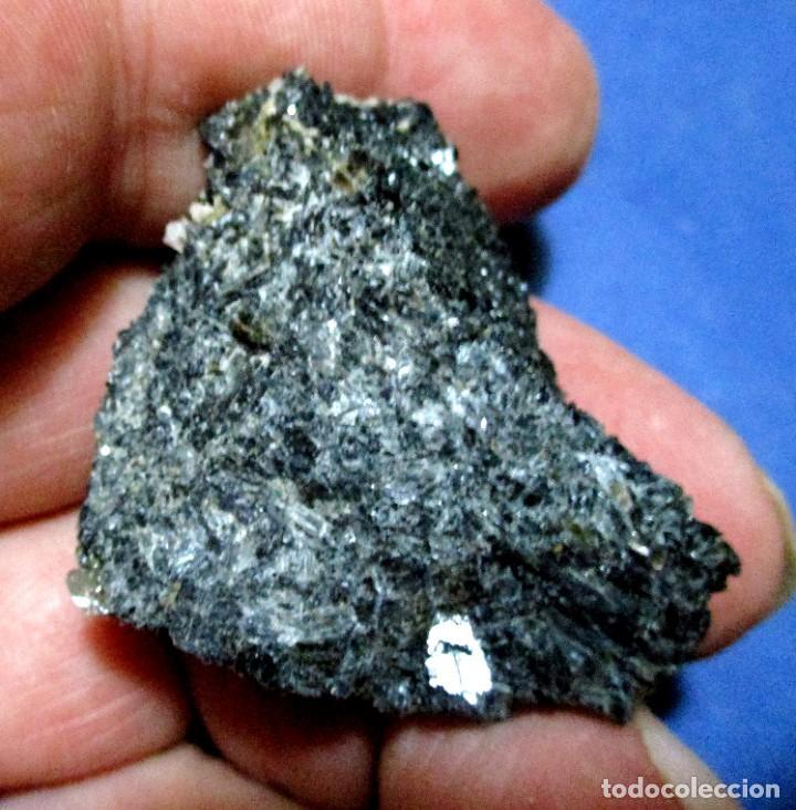 RICHTERITA-ONTARIO-CANADA S-969 (Coleccionismo - Mineralogía - Otros)
