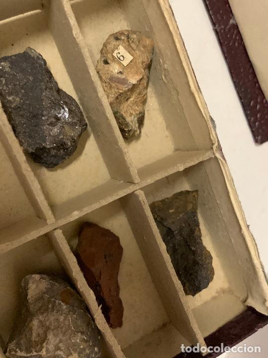 Coleccionismo de minerales: antiguo ESTUCHE ESCOLAR DE MINERALES. muy curioso... mide unos 18x10x2cms - Foto 15 - 288460163