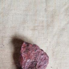 Coleccionismo de minerales: ROCA CINABRIO 59 GRAMOS. Lote 289431413