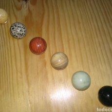 Coleccionismo de minerales: LOTE BOLITAS MINERAL. Lote 294459673