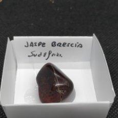 Coleccionismo de minerales: JASPE BRESCIA - MINERAL. CAJA 4X4. Lote 295520563