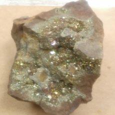 Coleccionismo de minerales: PIRITA IRISADA. Lote 296730148