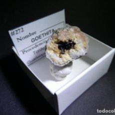Coleccionismo de minerales: (272) MINERALES. GOETHITA ACICULAR, TORDELRABANO, GUADALAJARA, ESPAÑA.. Lote 296785018