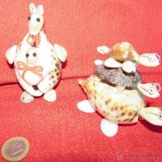 Coleccionismo de moluscos: BONITAS FIGURAS DE CONCHAS. Lote 45928529