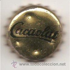 Coleccionismo Otros Botellas y Bebidas: CACAOLAT - CHAPA CORONA – FONDO CORCHO. Lote 25444732