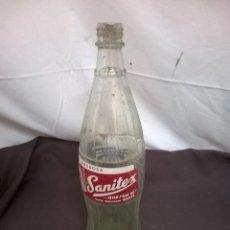 Coleccionismo Otros Botellas y Bebidas: GASEOSA SANITEX. Lote 81748296