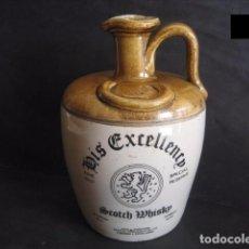 Coleccionismo Otros Botellas y Bebidas: HIS EXCELLENCY. DECANTER - CANECO - BOTELLA CERAMICA WHISKY. Lote 82879352