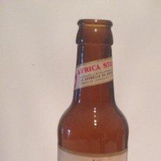 Coleccionismo Otros Botellas y Bebidas: BOTELLA CERVEZA AFRICA STAR. Lote 83052236