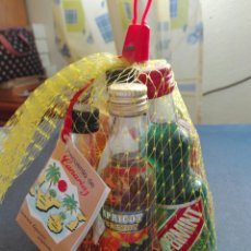 Coleccionismo Otros Botellas y Bebidas: LOTE 7 BOTELLINES DIFERENTES DE LICORES. Lote 83300862