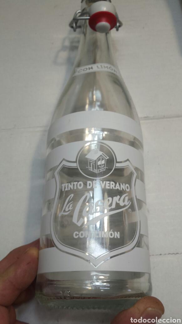 BOTELLA COLECCIÓN LA CASERA SERIGRAFIADA (Coleccionismo - Otras Botellas y Bebidas )