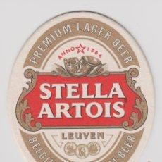 Coleccionismo Otros Botellas y Bebidas: POSAVASOS CERVEZA STELLA ARTOIS BEER BIER PIVO COASTER PORTA VASOS. Lote 85315628
