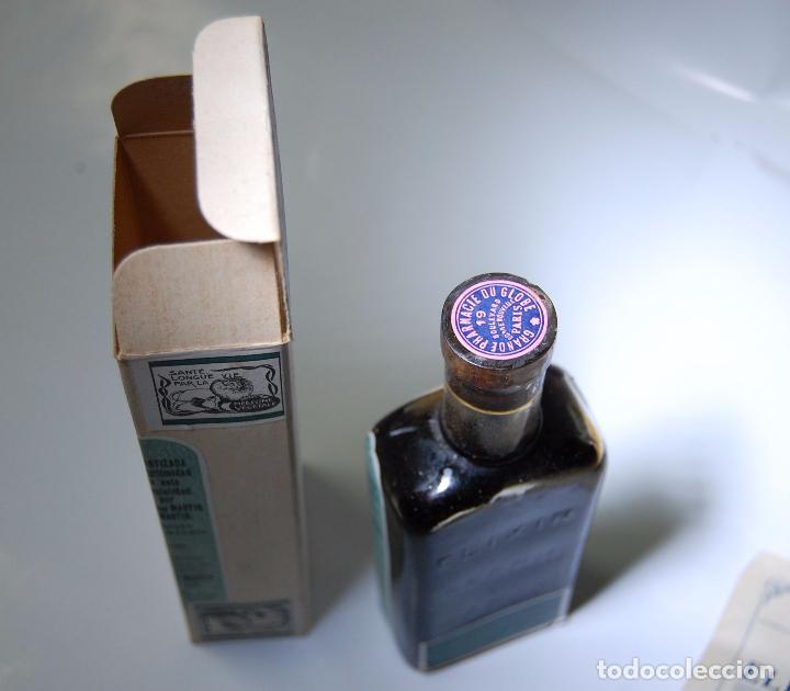Coleccionismo Otros Botellas y Bebidas: FRASCO DE FARMACIA ELIXIR SPARK FARMACIA DEL GLOBO // SIN DESPRECINTAR DE MUSEO - Foto 4 - 207968357