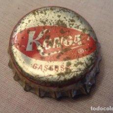 Coleccionismo Otros Botellas y Bebidas: TAPON CHAPA CORONA GASEOSA KONGA. Lote 86489712