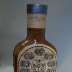 Coleccionismo Otros Botellas y Bebidas: FRASCO DE FARMACIA ELIXIR TROUETTE PERRET DE PAPAYA // MUY ANTIGUO DE MUSEO. Lote 87440720