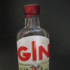 Coleccionismo Otros Botellas y Bebidas: GIN BOTELLIN GINEBRA MOGADOR. Lote 89311616