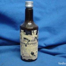 Coleccionismo Otros Botellas y Bebidas: ANTIGUO FRASCO DE ELIXIR EUPÉPTICO DE LABORATORIOS MIRABENT, BARCELONA . Lote 90472524