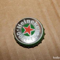 Coleccionismo Otros Botellas y Bebidas: CHAPA TAPÓN CORONA CERVEZA HEINEKEN. ABIERTA SIN DOBLAR.. Lote 91841375