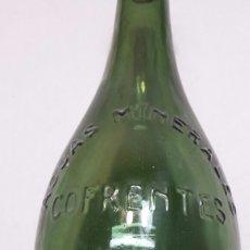 Coleccionismo Otros Botellas y Bebidas: BOTELLA ANTIGUA AGUA MINERAL COFRENTES . Lote 92062334