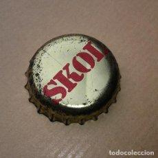 Coleccionismo Otros Botellas y Bebidas: CHAPA CORONA - CERVEZA SKOL - AÑOS 80´S - BUEN ESTADO DE CONSERVACIÓN. Lote 93576190