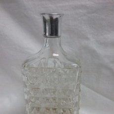 Coleccionismo Otros Botellas y Bebidas: ANTIGUA BOTELLA DE CRISTAL VACIA COGNAC FRANCÉS . Lote 93598360
