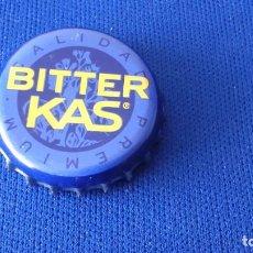Coleccionismo Otros Botellas y Bebidas: CHAPA BITTER KAS AZUL . Lote 94124340
