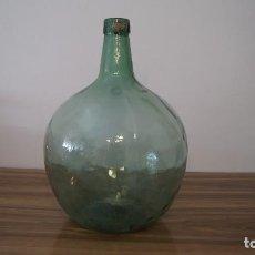 Coleccionismo Otros Botellas y Bebidas: GARRAFA MUY ANTIGUA CRISTAL SOPLADO VIRESA 16 LITROS. Lote 95140691