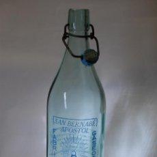 Coleccionismo Otros Botellas y Bebidas: BOTELLA DE GASEOSA CIPRIANO ÚBEDA DE ARENAS DE SAN JUAN CIUDAD REAL // MUY DIFÍCIL. Lote 96883962