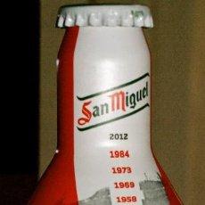 Coleccionismo Otros Botellas y Bebidas: BOTELLA ALUMINIO CERVEZA SAN MIGUEL. ATLETICO DE BILBAO (LLENA). A POR LA COPA. EDICIÓN LIMITADA. Lote 96176551