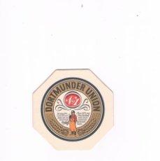 Coleccionismo Otros Botellas y Bebidas: POSAVASOS ANTIGUO DORTMUNDER UNION. Lote 96859543