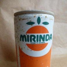 Coleccionismo Otros Botellas y Bebidas: VIEJA LATA DE MIRINDA,ORIGINAL PERO DE ALEMANIA...CURIOSA.. Lote 97122643