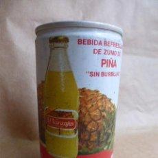 Coleccionismo Otros Botellas y Bebidas: PRIMERA LATA DE TRINARANJUS,,PIÑA...CURIOSA.. Lote 97122711