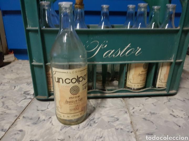Coleccionismo Otros Botellas y Bebidas: CAJA CON 8 BOTELLAS, CAFE LICOR UN COLPET, PASTOR - Foto 3 - 97464158