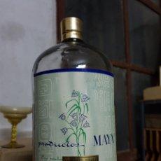 Coleccionismo Otros Botellas y Bebidas: BOTELLA A GRANEL DE PERFUME MAYA, ALCOY , 1L EXTRACTO DOBLE CHINALIA. Lote 97885582