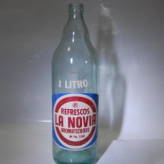 Coleccionismo Otros Botellas y Bebidas: BOTELLA DE GASEOSA LA NOVIA. Lote 98169899