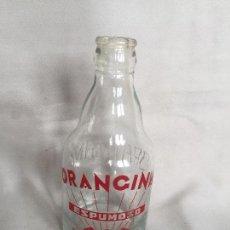 Coleccionismo Otros Botellas y Bebidas: BOTELLA SERIGRAFIADA REFRESCO ORANGINA , AÑOS 60. Lote 99080935
